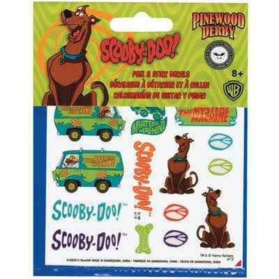 RMXY9407 Scooby-Doo Car Wrap Decal - Multi-Colored