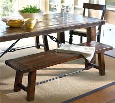 Barn Dining Table Pottery Fixed Room And Benches Griffin