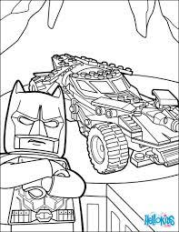 LEGO Batman Batmobile Coloring Page Color Online Print