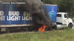 100 Bud Light Truck Lights Up Highway 331