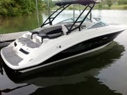 Bayliner 190 Deck Boat by Video Sea Ray Rolls Out Sportboat Models At Press Event Trade
