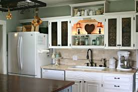 tile countertops vent small kitchen decoration using