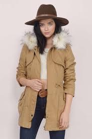 camel coat fur coat anorak coat hooded coat c 61