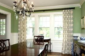 Dining Room Window Treatment Ideas Curtain Medium Size Of Curtains