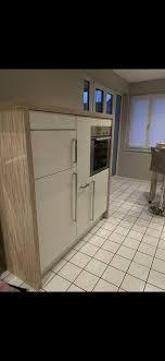 hochwertige nolte einbauküche küche weiß creme hochhlanz