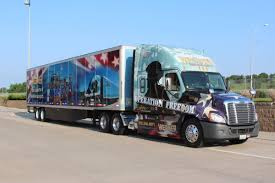 100 Werner Trucking Pay Navy Vet Will Drive S Third Operation Freedom Truck Money