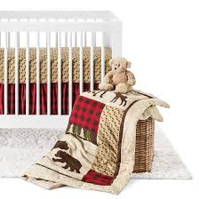 trend lab 3pc crib bedding set northwood s target