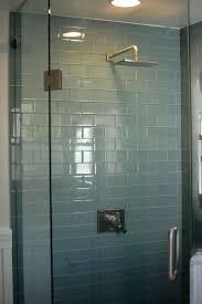 tiles bathroom shower glass tile ideas glass subway tile