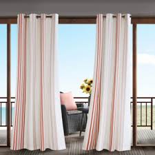 Grommet Top Curtains Jcpenney by Madison Park Bolinas Grommet Top Outdoor Curtain Jcpenney
