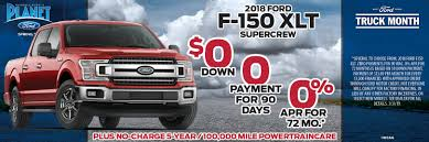 100 Rebates On Ford Trucks New Specials Randall Reeds Planet 45