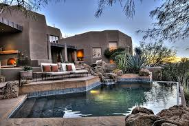 100 Modern Homes Arizona Desert Home Combines Waterscaping Xeriscaping And