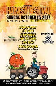 Pasadena Pumpkin Patch Nl by Events Archives Green Hills Memorial Park