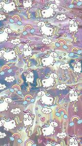 Ipod Wallpaper Cellphone Backgrounds Iphone Wallpapers Kawaii Mobile Fat Unicorn Cute