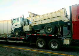 CV Auto Transport Blog — Cvauto: 1991 Isuzu FTR Dump Truck Transport ...
