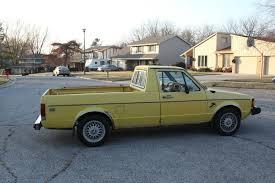 1981 Vw Volkswagen Mk1 Rabbit LX Diesel Pickup Caddy Truck 1.6l 5 ...