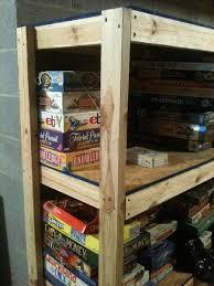 build wooden basement storage shelves plans diy small wooden