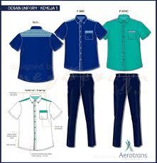 Desain Baju Seragam Kemeja Pria Men Shirts Batik Technical Drawing
