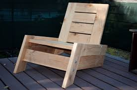 Diy Wooden Outdoor Furniture by Modern Vintage Reclaimed Wood Deck Chair 275 00 Via Etsy