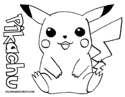 Pikachu Coloring Pictures 2570856