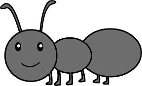 Cute Black Ant Clipart Free Clip Art