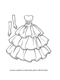 Barbie Coloring Pages See More Fashion