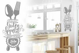 guten appetit wandtattoo küche esszimmer wand sprüche