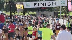 Great Pumpkin 10k 2017 by 2017 Great Race 10k Finish Line Video 51 34 1 01 32 Cbs Pittsburgh