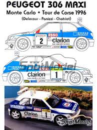 Car scale model kits Rally Cars Tour de Corse New products
