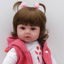 Newborn Doll Kit 22 Reborn Dolls Kits Supplies Soft Vinyl Head 3