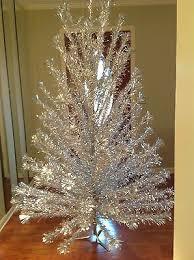 Vtg Peco 7 POM ALUMINUM CHRISTMAS TREE 119 Branches OrigBox COLOR WHEEL