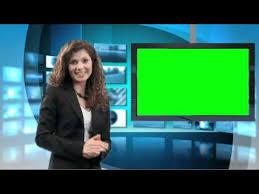 Green Screen News Studio Demo