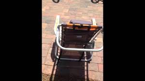 Rio Hi Boy Beach Chair With Canopy by Rio 5 Position Beach Chair Youtube