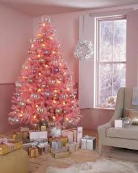 Interior Pink Christmas Decoration Ideas Celebration All About Astonishing Tree 9