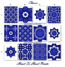 Royal Blue Bathroom Wall Decor by Moroccan Wall Art Moroccan Wall Decor Abstract Geometric Navy