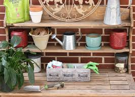 Shed Bench by 10 Great Storage And Organization Ideas For Garden Sheds Garden Club