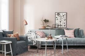 couleur canapé couleur de peinture pour salon et idées déco en 55 photos