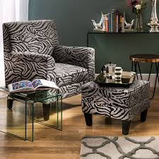 Luxe Textured Animal Print Armchair, Grey | Achica Articles With Leopard Print Chaise Lounge Sale Tag Glamorous Bedroom Design Accent Chair African Luxury Pure Arafen Best 25 Chair Ideas On Pinterest Print Animal Sashes Zebra Armchair Uk Chairs Armchairs Pier 1 Imports Images About Bedrooms On And 17 Living Room Decor Ideas Pictures Fniture Style Within Kayla Zebraprint Wingback Chairs Ralph Lauren Homeu0027s Designs Avington