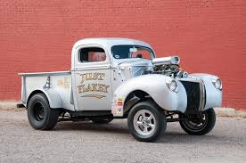 Weldon Richardson's 1941 Ford Gasser Pickup Shakes The Flake - Hot ...