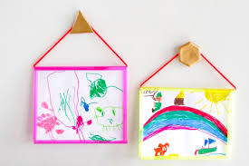 Room To Grow Craft Activities For Kids How Make A Picture Frame Using Plastic Straws Home