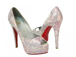 22 best Crystal Heels Shoes images on Pinterest