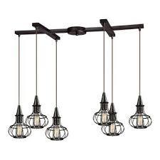 bronze bronze cluster pendant lights lighting the home depot