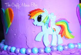 My Little Pony Cakes Part e Rainbow Dash