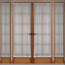front doors front door sidelight panel curtains design