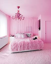 Pink Rugs In Beautiful Decoration Modern Bedroom