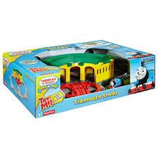 Tidmouth Sheds Deluxe Set by Thomas U0026 Friends Take N Play Tidmouth Sheds Adventure Hub
