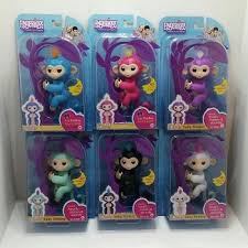 WowWee Fingerlings All Colors Baby Monkey Interactive Toy