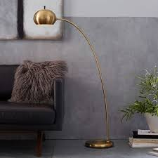 Regolit Floor Lamp Assembly by Arc Or Arch Floor Lamps Roundup Apartment Therapy