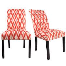 DAYNA Curve Back Style TIXIA IKAT Upholstered Fabric Dining Chair With Nail  Head Trim Spring Seating, Espresso Legs (Set Of 2) Lily Navy Floral Ikat Accent Chair Navy And Crimson Ikat Ding Chair Cover Velvet Ding Chairs Tufted Blue Meridian Fniture C Angela Deluxe Indigo Pier 1 Imports Homepop Parson Multicolor Set Of 2 A Quick Living Room And Refresh Stripes Whimsy Loralie Upholstered Armchair With Walnut Finish Polyester Stunning And Brown Ideas Ridge Table Eclectic Decatorist Espresso Wood Ode To The Skirted Katie Considers