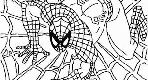 Free Spiderman Coloring Pages To Inspire In Page