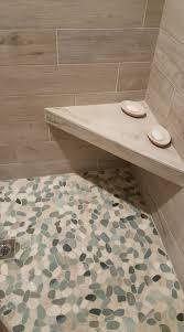 Bathroom Tile Floor Ideas For Small Bathrooms by 544 Best Bathroom Pebble Tile And Stone Tile Ideas Images On